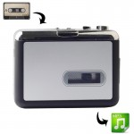USB Cassette Tape to MP3 Converter Capture Audio Music Player
