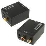 Digital Optical Coaxial Toslink to Analog RCA Audio Converter