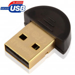 Micro Bluetooth 4.0 USB Adapter, Support Voice Data (Transmission Distance: 30m)(Black)