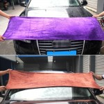 Wear Thick Velvet Cache Towels,Size:160 x 60cm,Random Color Delivery