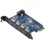 ORICO PVU3-4P 4 Ports USB3.0 PCI Express Card for Desktop(Black)