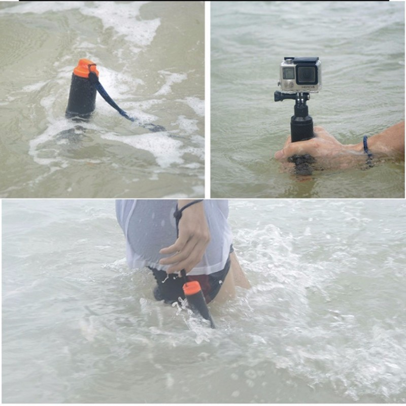 TMC HR391 Shutter Trigger Floating Hand Grip / Diving Surfing Buoyancy  Stick with Adjustable Anti-lost Hand Strap for GoPro HERO - Wewoo