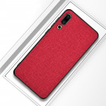 Shockproof Cloth Texture PC+ TPU Protective Case for Meizu 16s (Red)