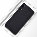 Shockproof Cloth Texture PC+ TPU Protective Case for Meizu 16s (Black)