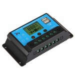 CMTD-2420 Solar Charge / Discharge Controller with LED Display & Dual USB Ports