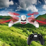 Hubsan H502E Altitude Mode 6CH RC Quadcopter with 720P HD Camera(White)