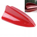 Antenne voiture rouge A-881 Shark Fin Dôme Décoration - Wewoo