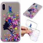 Painted TPU Protective Case For Galaxy S10e(Floral Girl Pattern)