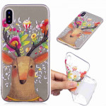 Painted TPU Protective Case For Galaxy S10e(Flower Deer)