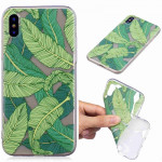 Painted TPU Protective Case For Galaxy S10 Plus(Banana Leaf Pattern)