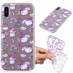 Painted TPU Protective Case For Galaxy S10 Plus(Bobi Horse Pattern)