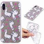 Painted TPU Protective Case For Huawei P30(Alpaca Pattern)