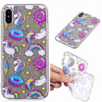 Painted TPU Protective Case For Huawei P30(Cake Horse Pattern)