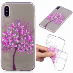 Painted TPU Protective Case For Huawei P30(Butterfly Tree Pattern)