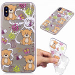 Painted TPU Protective Case For Huawei P30 Pro(Brown Bear Pattern)