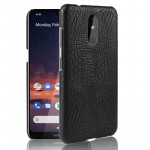 Shockproof Crocodile Texture PC + PU Case For Nokia 3.2(Black)