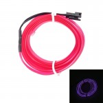 1M Cold Light Flexible LED Strip Light For Car Decoration(Purple Light)