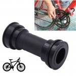 Bike Bicycle BB92 Bottom Bracket Fits 86-92mm for SHIMANO Mountain Bike(Black)