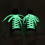 1 Pair Noctilucent Shoelaces, Length: About 80cm