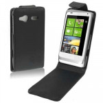 Leather Case for HTC C110e Radar