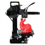 D1 3D Aluminum Alloy Three-Dimensional Physical Printer with LCD Display, Use PLA 1.75mm Printing Supplies