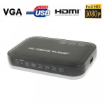 1080P HD Media Player, Support SD/MMC Cards(Black)