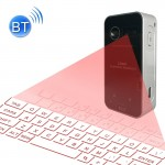Clavier noir pour Android / iPhone / Apple / PC etc. KB560 Mini Poche Bluetooth Virtual V3.0 de Projection Laser - Wewoo