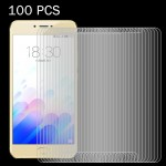 100 PCS Meizu Meilan X 0.26mm 9H Surface Hardness 2.5D Explosion-proof Tempered Glass Screen Film