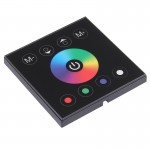 SX-M004 RGBW Double Board Touch Panel LED Remote Controller, DC 12-24V(Black)