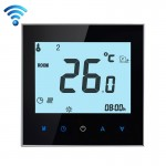 BHT-1000-GB-WIFI 16A Load Electronic Heating Type Touch LCD Digital WiFi Heating Room Thermostat with Sensor, Display Clock / Te