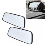 2 PCS SHUNWEI SD-2407 Adjustable Car Blind Spot Mirror Rear View Mirror Decoration With Double-sided Adhesive Rearview Mirror 36