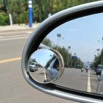 2 PCS XIAOLIN XL-1008A Car Blind Spot Rear View 360 Degree Angle Adjustable Wide Angle Mirror, Diameter: 5cm