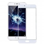 iPartsBuy Meizu MX6 Front Screen Outer Glass Lens(White)