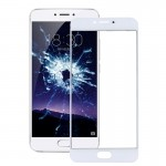 iPartsBuy Meizu PRO 6 / MX6 Pro Front Screen Outer Glass Lens(White)
