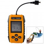 Portable Wired Fish Finder with Sonar Sensor Transducer and LCD Dispaly