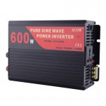 SUVPR DY-LG600S 600W DC 12V to AC 220V Pure Sine Wave Car Power Inverter with Universal Power Socket