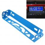 Car Auto Universal Aluminum Alloy Modified License Plate Frame Holder(Blue)