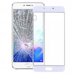 iPartsBuy Meizu Meilan X Front Screen Outer Glass Lens(White)