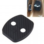 4 PCS Car Door Lock Buckle Decorated Rust Guard Protection Cover for Aeolus A30 BYD Surui BYD Qin