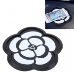 Car Auto 3D Camellia Shape Rubber Dashboard Anti-slip Super Sticky Pad Mate Holder for GPS Phone MP3 MP4