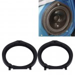 2 PCS Car Auto ABS Loudspeaker Base Protection Cover Holder Mat for Honda