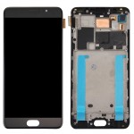iPartsBuy Meizu Pro 6 Plus LCD Screen + Touch Screen Digitizer Assembly with Frame(Black)