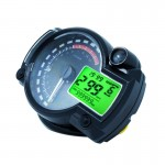 Universal Multi-functional Motorcycle Rotating Speed Mileage Gear Water Temperature Clock Meter Gauage