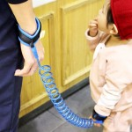 Kids Safety Harness Child Leash Anti Lost Wrist Link Traction Rope Anti Lost Bracelet, Length: 1.5m(Blue)