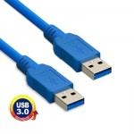USB 3.0 A Male to A Male AM-AM Extension Cable, Length: 1m