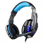 KOTION EACH G9000 3.5mm Game Gaming Headphone Headset Earphone Headband with Microphone LED Light for Laptop / Tablet / Mobile P