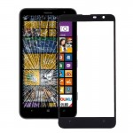 iPartsBuy for Nokia Lumia 1320 Front Screen Outer Glass Lens(Black)