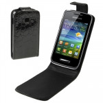 High Quality Crocodile Texture Leather Case for Samsung S5380