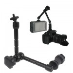 11 inch Articulating Magic Arm for LCD Field Monitor / DSLR Camera / Video lights(Black)