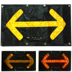 30 LED Car Safety Hazard Traffic Two-way Arrow Direction with Key Indicator Switch Signal Sign